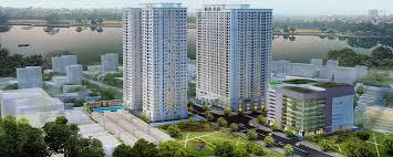 Chung cư  Eco Lake View tọa lạc tại 32 Đại Từ, Q.Hoàng Mai