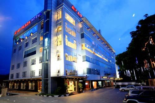 Tổ hợp trung tâm thương mại khách sạn AP plaza thành phố hòa bình